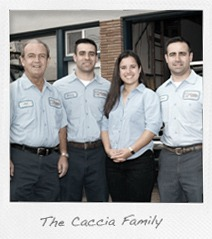 James Caccia Plumbing Family and Team