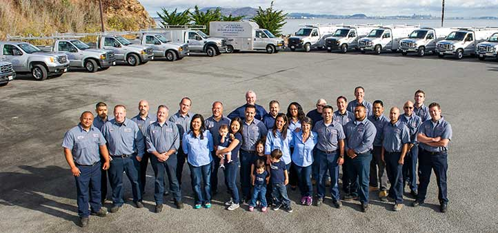 Meet The Team Plumbing Services in San Mateo, CA